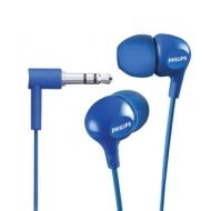 Наушники PHILIPS SHE3550BL/00, проводные, 1,2 м, стерео, вкладыши, голубые, SHE3550BL/00
