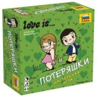 Игра настольная детская карточная Love is…Потеряшки, в коробке, Звезда, 8957