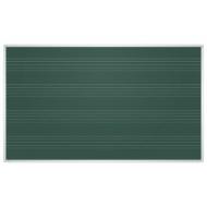 Доска для мела магнитная (85x100 см), Зеленая, Под ноты, алюминиевая рамка, EDUCATION 2х3 (Польша), TKU8510P