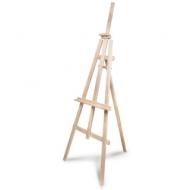 Мольберт напольный «Ученический», размер полок 130 см, угол 50-90°, в собранном виде 66х183х88 см, 750 02-1