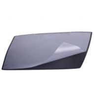 Коврик-подкладка настольный для письма (650х520 мм), c прозрачным листом, черный, DURABLE (Германия), 7201-01