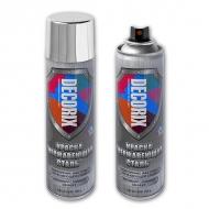 Аэрозольная краска Нержавеющая Сталь DECORIX с антикоррозийным эффектом, 335 мл