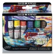 Набор масляных красок Daler Rowney Georgian GOC Mixing Set, 5 x 75мл