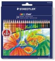 Набор цветных карандашей Staedtler Noris Club, 24 цвета, картон