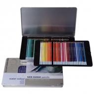 Подарочный набор цветных акварельных карандашей Van Gogh Royal Talens, 60 цветов