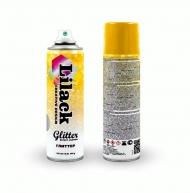 Аэрозольный глиттер Glitter Effect Coating Lilack 335 мл