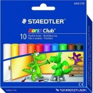 Набор пластилина Staedtler Noris Club, 10 цветов, картонная коробка