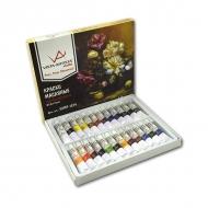 Набор художественных масляных красок «Studio» Vista-Artista, 24 цвета, в тубах по 12 мл