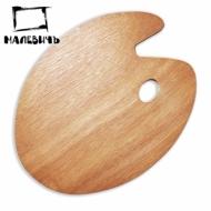 Овальная деревянная палитра 30х40 см, Малевичъ