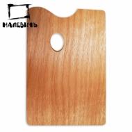 Прямоугольная деревянная палитра 20х30 см, Малевичъ