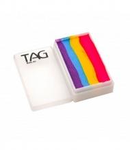 Профессиональный гипоаллергенный аквагрим Сплит-кейк TAG «Танцпол», 30г, 4 цвета