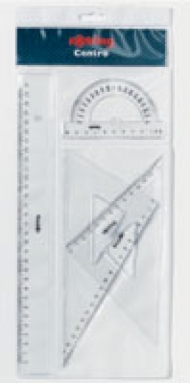 Геометрический набор CENTRO, 4 предмета