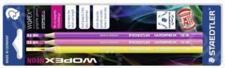 Набор графитовых карандашей WOPEX 180, HB, 3 шт в блистере