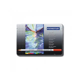 Набор цветных карандашей KARAT, акварельные, 12 цветов, металл