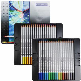 Набор цветных карандашей KARAT, акварельные, 36 цветов, металл