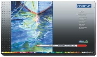 Набор акварельных цветных карандашей KARAT, 60цветов, металлическая коробка
