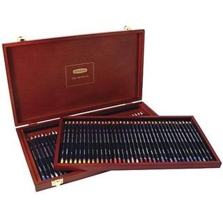 Набор цветных карандашей Derwent Studio, 72 цвета, в деревянной шкатулке
