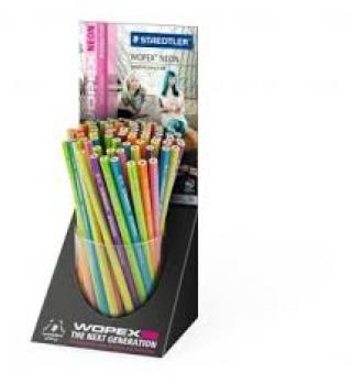 Дисплей графитовых карандашей WOPEX 180, HB, 72 штуки в дисплее