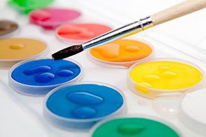 Такие разные краски для рисования