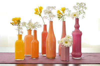 Как покрасить вазу своими руками