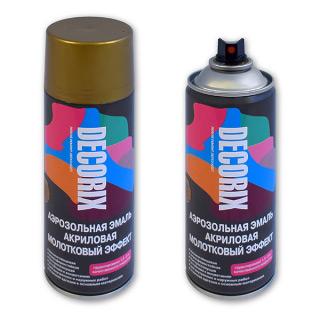 Аэрозольная краска молотковая Decorix 520 мл