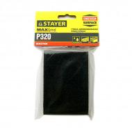 Губки шлифовальные STAYER MASTER водостойкие, зернистость P180 и P320 для дерева