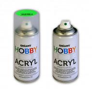 Аэрозольная краска флуоресцентная GHIANT HOBBY ACRYL для хобби и моделирования 150 мл