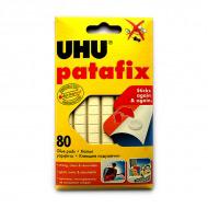 Клеящие подушечки UHU Patafix белые многоразовые 80 шт